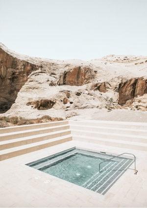 déco poster desenio piscine paysage voyage