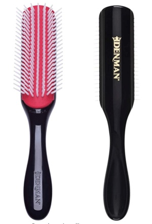 denman brush 7 rangs cheveux bouclés