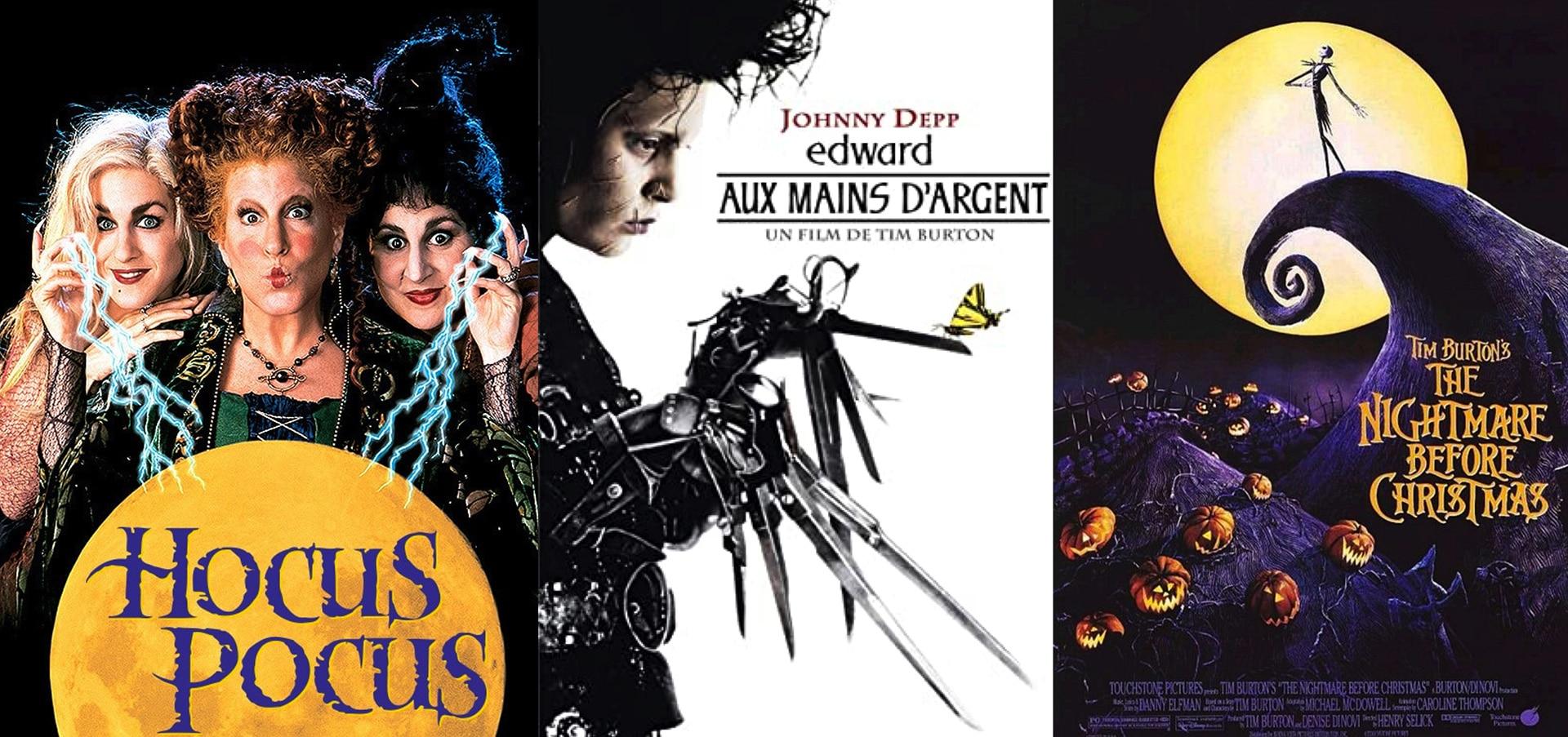 meilleurs films d'horreur enfants halloween hocus pocus edward