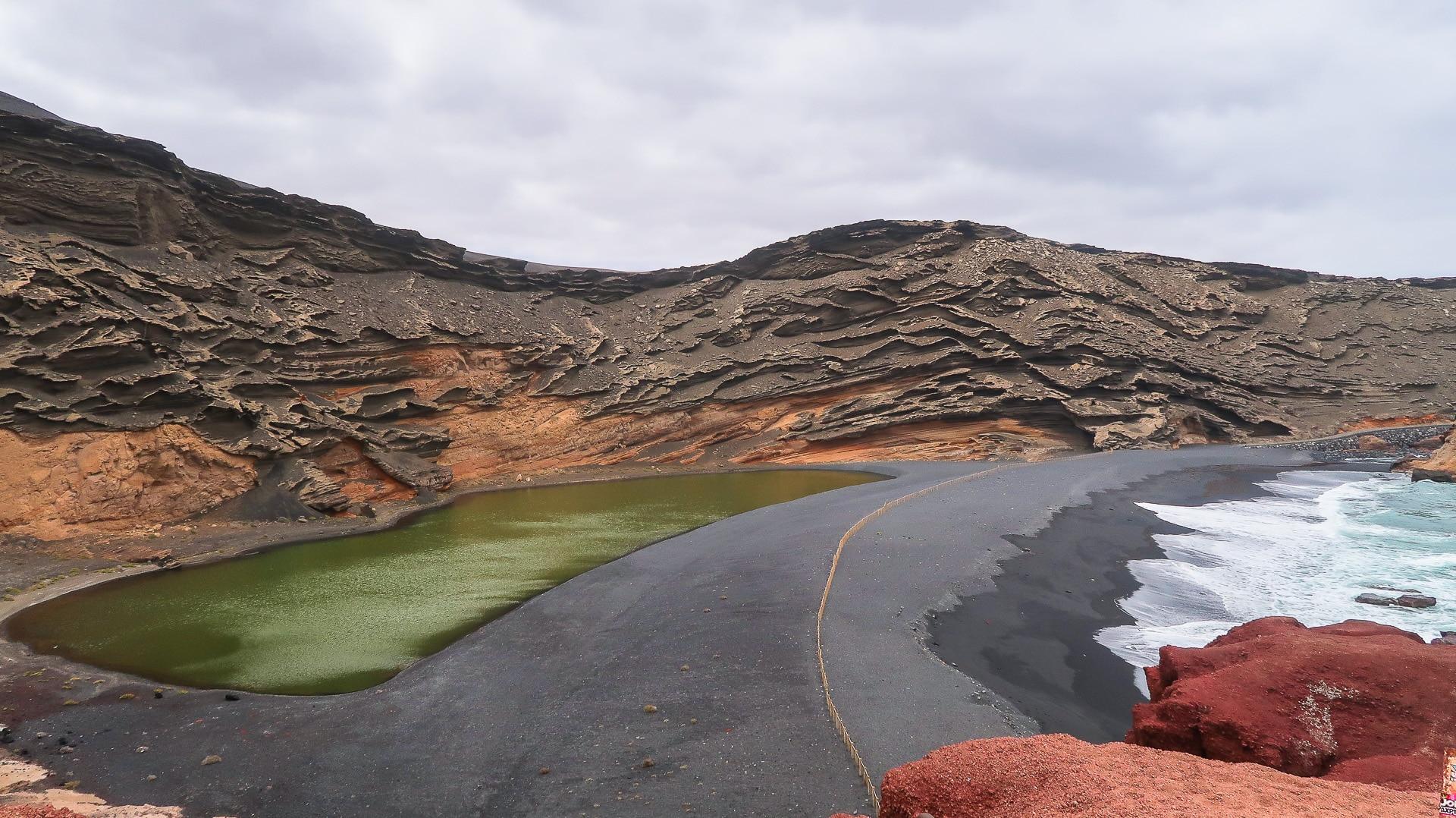 el golfo lanzarote laguna verde